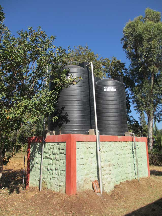 Help Tibet Water Storage tanks